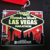 Rock n Roll Las Vegas Marathon Medal – 2012 – Run It Fast