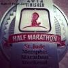 St Jude Memphis Half Marathon Medal – 2012 – Judd – Run It Fast