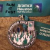 Houston Half Marathon Medal – 2013 – Run It Fast