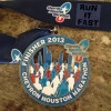 Houston Marathon Medal – 2013 – Run It Fast