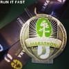 Louisiana Marathon Medal 2013