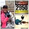 Mississippi Blues Half Marathon Medal 2013