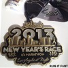 New Years Race Half Marathon Medal 2013_2