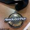 Resolution 5K Medal 2013