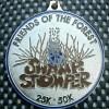 Swampstomper 25K50K Medal 2013