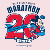 Walt Disney World Marathon 20th Anniversary – Mickey Mouse