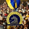 2013 Boston Marathon Finisher Medal FRONT – Run It Fast