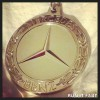 Mercedes Half Marathon Medal 2013
