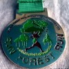 Run Forest Run 10K Medal 2013