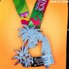 San Diego's Women's Half Marathon Medal 2013