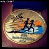 Seaside Half Marathon Medal 2013