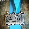 Chi Town Half Marathon Medal 2013