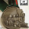 Tobacco Road Marathon Medal – Run It Fast – 2013