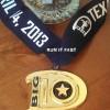 Big D Marathon Medal 2013