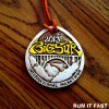 Big Sur Marathon Medal 2013