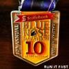 Blue Nose Marathon Medal 2013