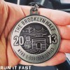 The Brooklyn Half Marathon Medal (2013)