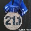 Calgary Half Marathon Medal 2013