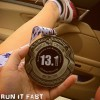 Movie Madness Half Marathon Medal 2013