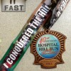 Hospital Hill Half Marathon Medal – 2013 – Run It Fast