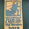 Millarville Run Half Marathon Medal 2013