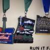 RnR Seattle Half Marathon Medal 2013