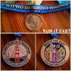 San Francisco Half Marathon Medal 2013