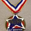 Duo At The Ledge Half Marathon Medal 2013