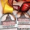 Edmonton Half Marathon 10K Medals 2013