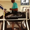Kobe Bryant Walking on Anti-Gravity Treadmill