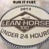 Lean Horse 100 Buckle 2013