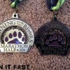 Running With The Bears Marathon Medal 2013
