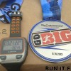 Big Cottonwood Marathon Medal 2013