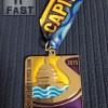 Capital City River Run Half Marathon Medal (2013)