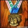 Chicago Half Marathon Medal 2013