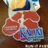 Kauai Marathon Medal 2013