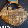 Valmiera Marathon Medal 2013