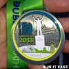 Dublin Marathon Medal 2013