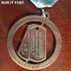 Go Commando Half Marathon Medal 2013