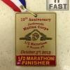 Jacksonville Marine Corps Half Marathon Medal (2013) – Run It Fast
