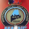 Maine Marathon Medal (2013) – Run It Fast