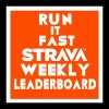 Run It Fast Strava Weekly Leaderboard