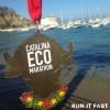 Catalina Eco Marathon Medal 2013
