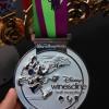 Disney Wine & Dine Half Marathon Medal 2013