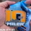 EQT Pittsburgh 10 Miler Medal 2013