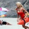 Pamela Anderson Running on Baywatch as C.J. Parker