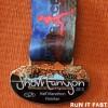 Snow Canyon Half Marathon Medal 2013