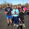 2013 Black Diamond 40 Miler Top 3 Males (Arthur Priddy middle, Chris Estes left, Joshua Holmes right)