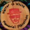Walter H White Memorial Marathon Medal 2013