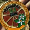 Citrus Heritage Run Half Marathon Medal 2014